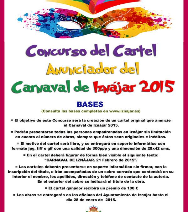 Concurso del Cartel Anunciador del Carnaval de Iznájar 2015