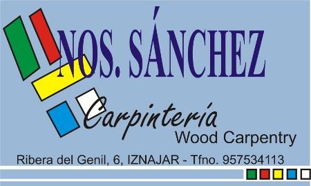 Carpintería Hnos. Sánchez 1