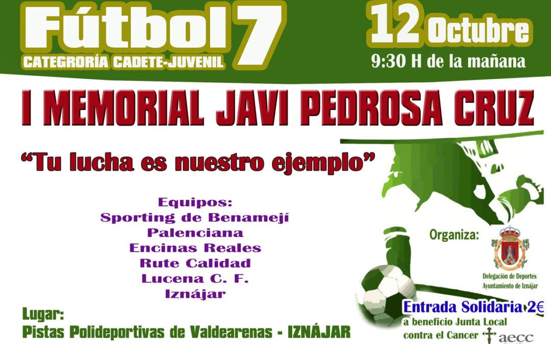 I Memorial Javi Pedrosa Cruz 1