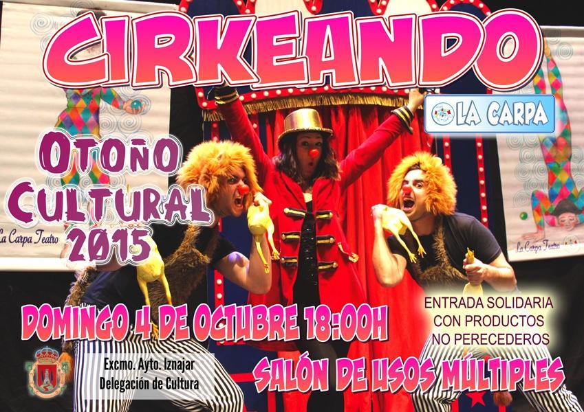 La Carpa Teatro en el Otoño Cultural 1
