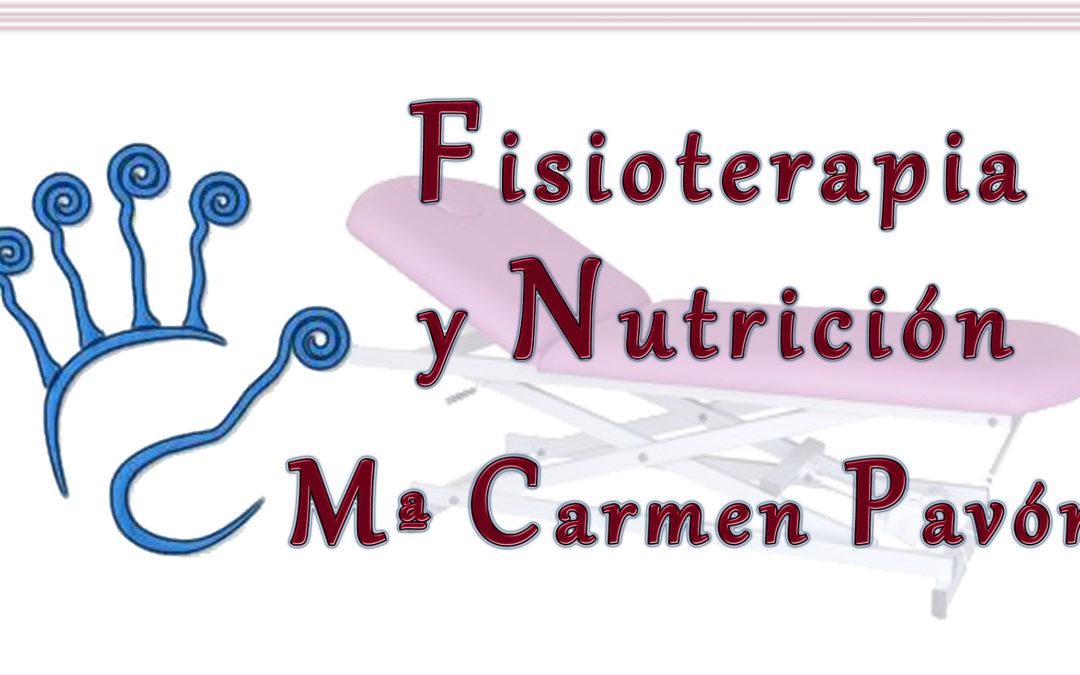 Fisioterapia y Nutrición Mª Carmen Pavón
