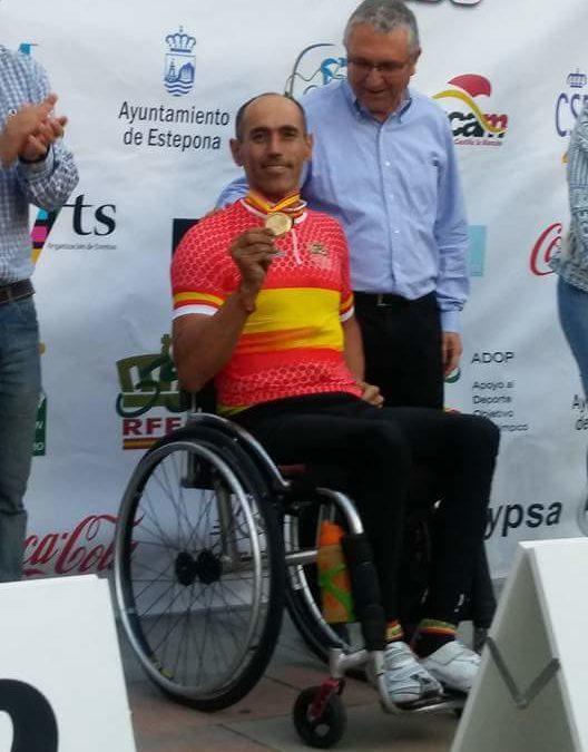 El iznajeño Alfonso Ruiz, en lo más alto del ciclismo adaptado 1