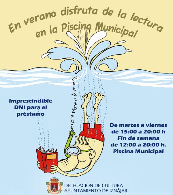 Este verano disfruta en la Piscina Municipal del servicio de Bibliopiscina  1