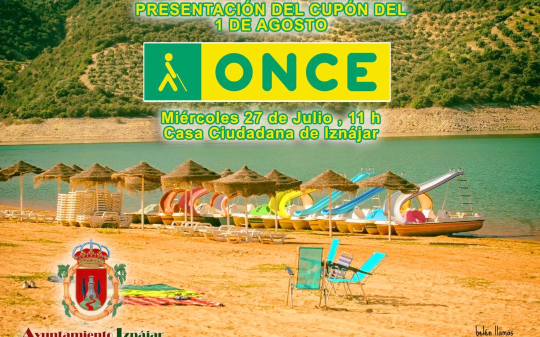 La Playa de Valdearenas de Iznájar será la imagen de la ONCE el 1 de Agosto 1