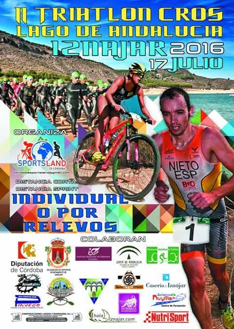 Presentación del II Triatlón Cros Lago de Andalucía 1