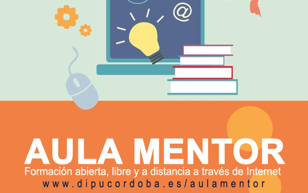 La Diputación de Córdoba destina 45.000 euros a subvencionar las matrículas de Aula Mentor 1