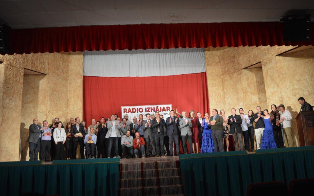 Iznájar celebra con una gran Gala el décimo aniversario de su emisora 1