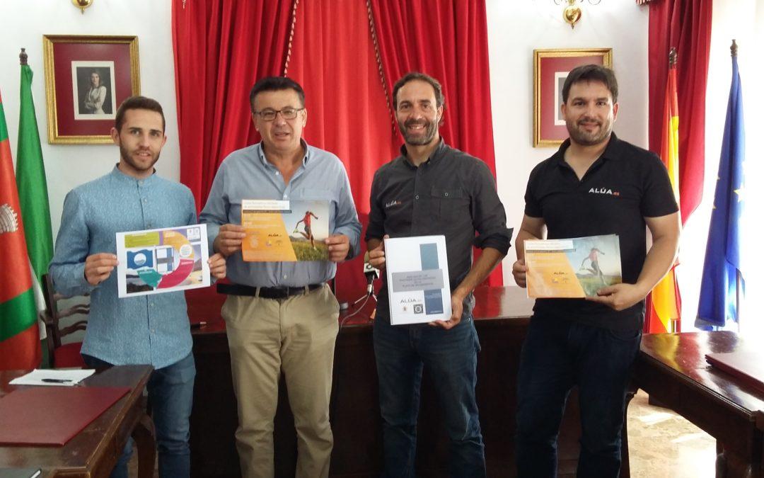 La empresa Alúa presenta en Iznájar el estudio de los factores de peligrosidad en la playa de Valdearenas y los ciclos formativos para el próximo curso 1