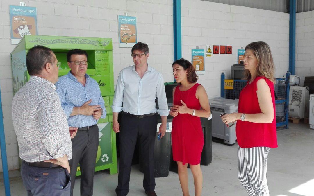 EPREMASA y Ayuntamiento firman un convenio para la gestión del Punto Limpio 1