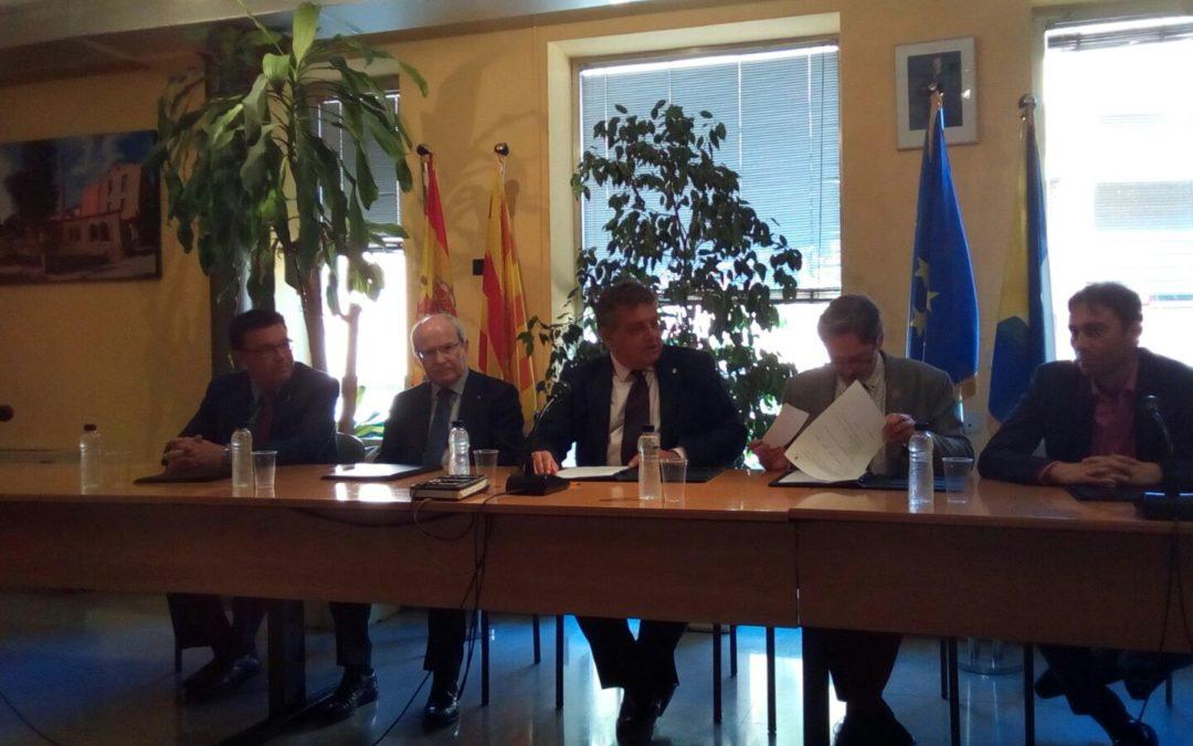 Vigésimo aniversario del hermanamiento entre Iznájar y Montbui 1
