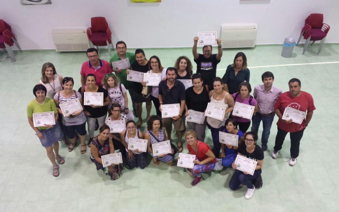 Clausura de la Escuela de Madres y Padres en Iznájar 1