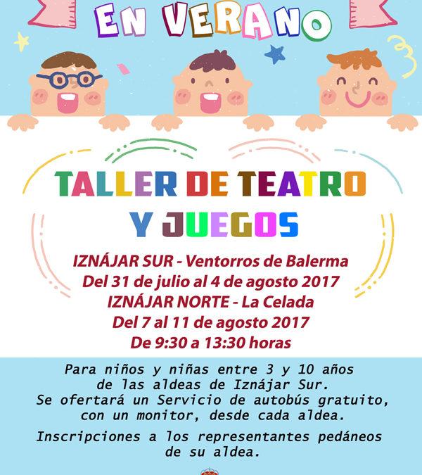 """El Ayuntamiento de Iznájar pone en marcha en agosto el Programa """"Diviértete en Verano"""" 1"""