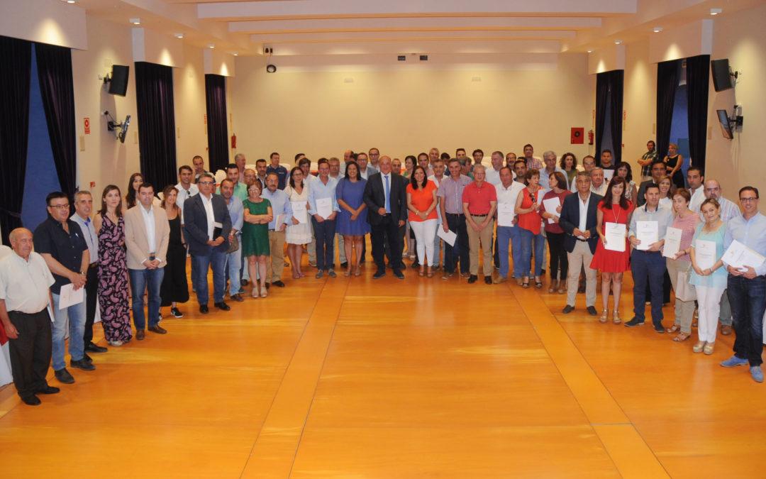 Iznájar recibe 102.641,16 € del Programa Anual de Acción Concertada y Empleo de la Diputación de Córdoba 1