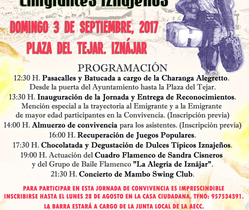 Iznájar celebra una Jornada de Convivencia en homenaje a sus emigrantes 1