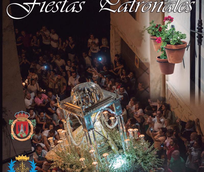 Concurso de diseño de la portada de la revista y el cartel de las Fiestas Patronales de Iznájar 2017 1