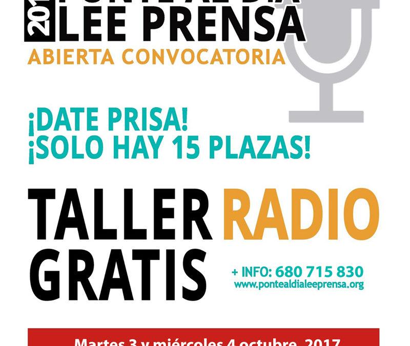 Taller de Radio en Iznájar 1