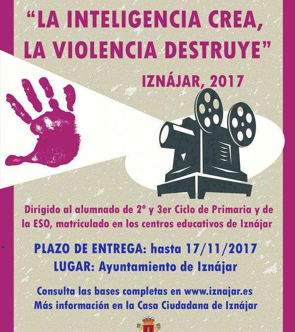 """Concurso de cortometrajes """"La Inteligencia crea, la violencia destruye"""" 1"""