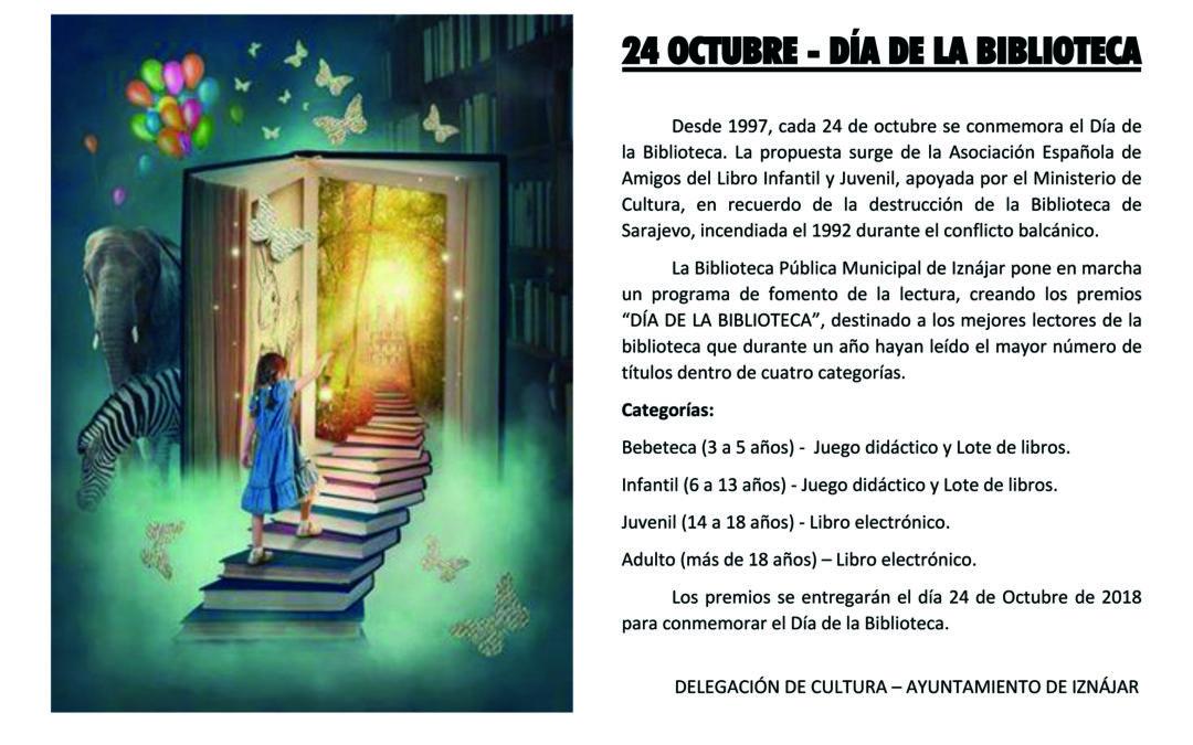La Biblioteca Municipal de Iznájar celebra el Día Internacional de la Biblioteca 1
