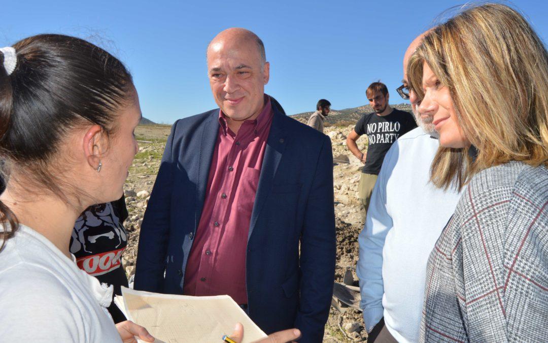Hallazgo arqueológico en el entorno del Embalse de Iznájar 1