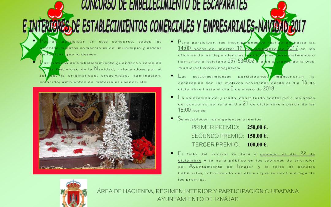 Concurso de escaparates e interiores comerciales para Navidad 1