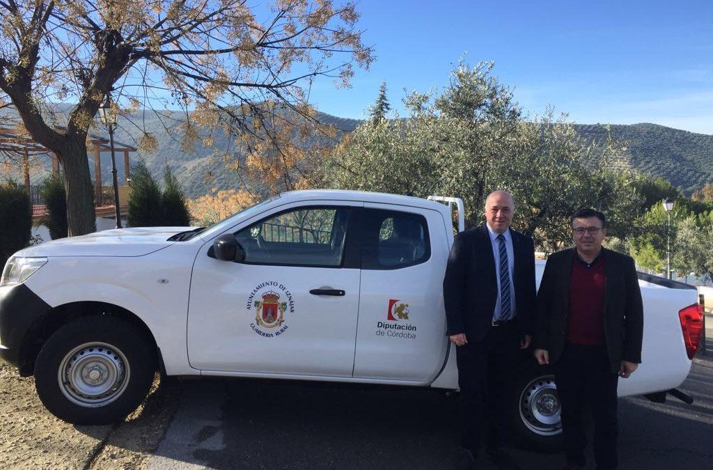 El Ayuntamiento de Iznájar adquiere un nuevo vehículo para Guardería Rural 1