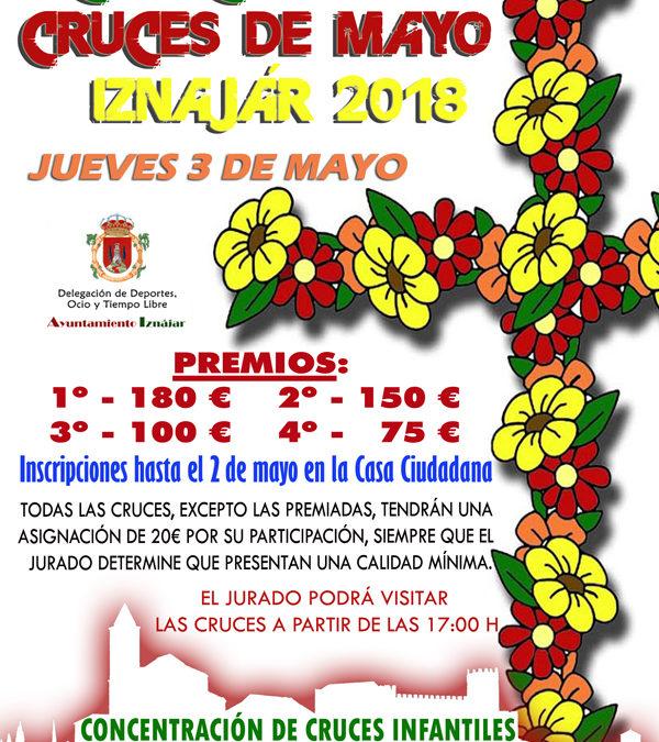 El Ayuntamiento de Iznájar convoca el tradicional Concurso de Cruces de Mayo 1
