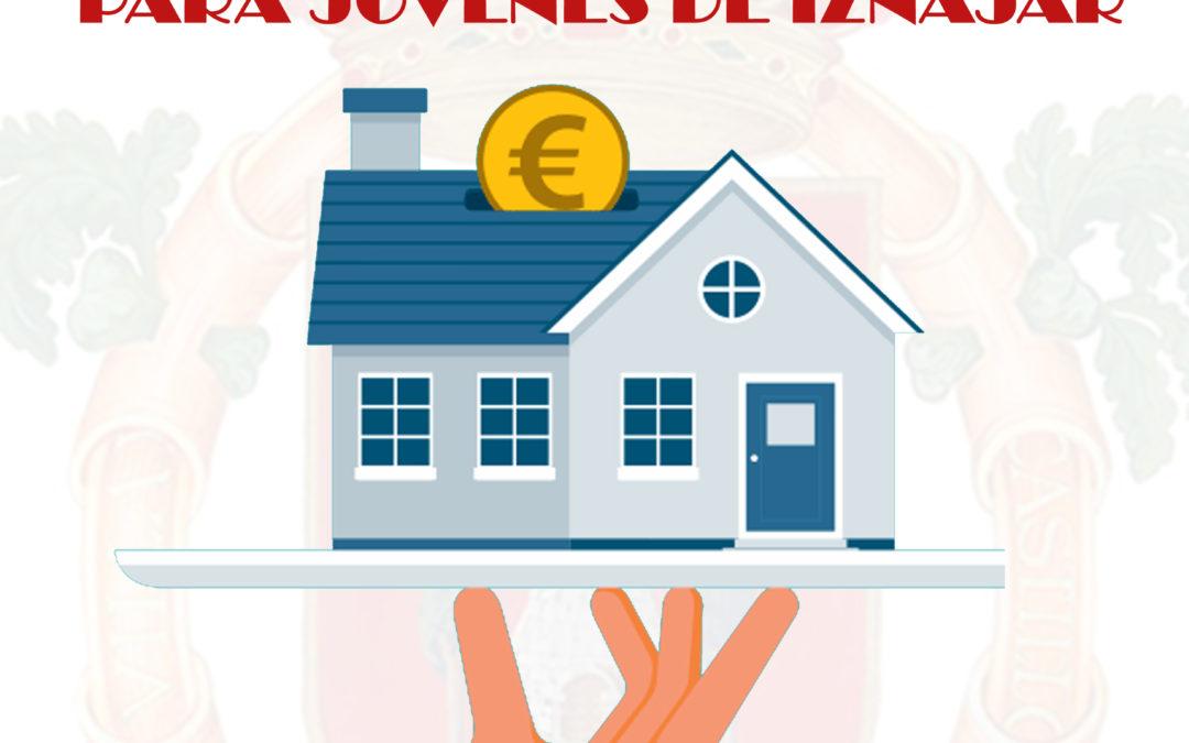 El Ayuntamiento de Iznájar ayuda a los jóvenes en el alquiler de viviendas 1