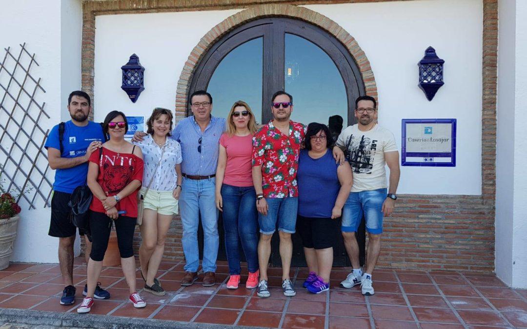 Los técnicos de turismo de la Subbética visitan Iznájar 1