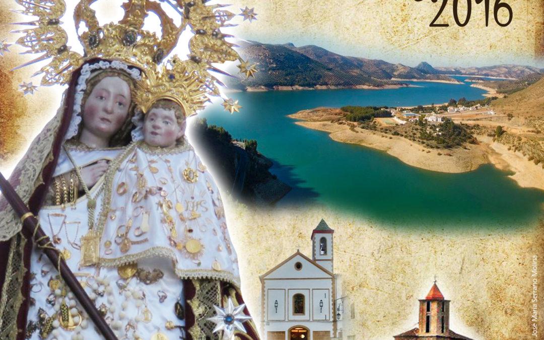 Concurso de diseño de la portada de la revista y el cartel de las Fiestas Patronales de Iznájar 2018 1