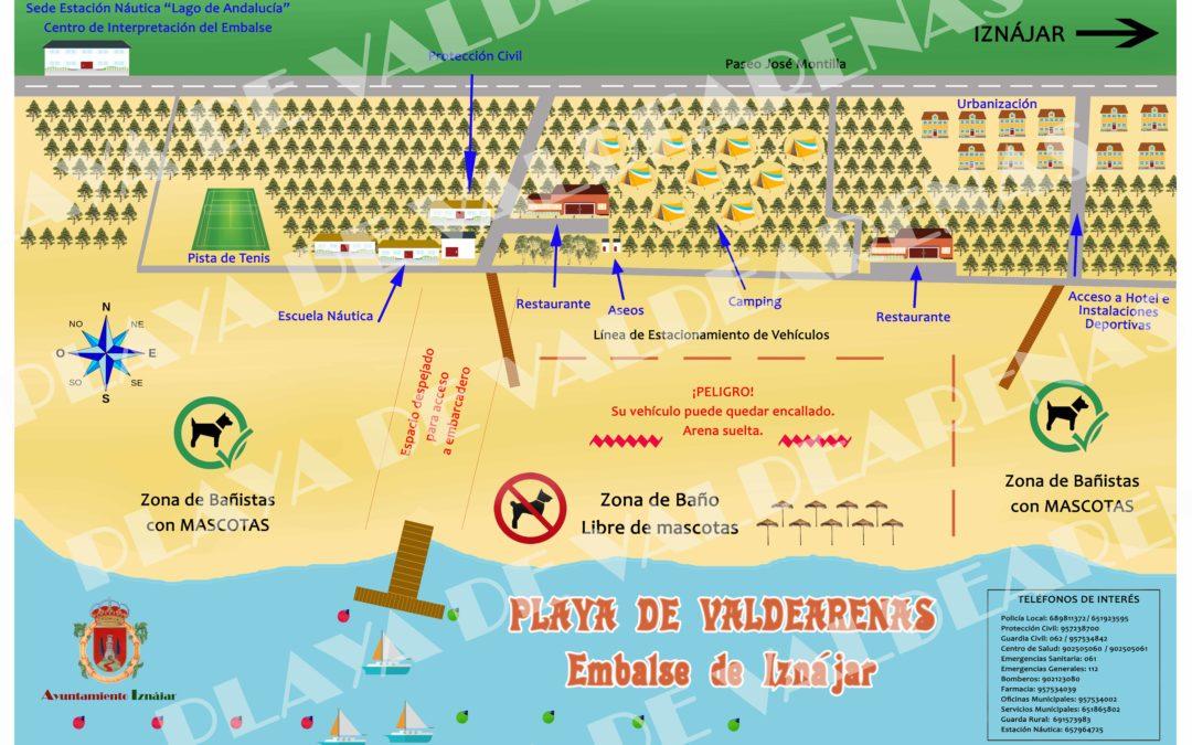 Paneles Informativos Playa de Valdearenas 1
