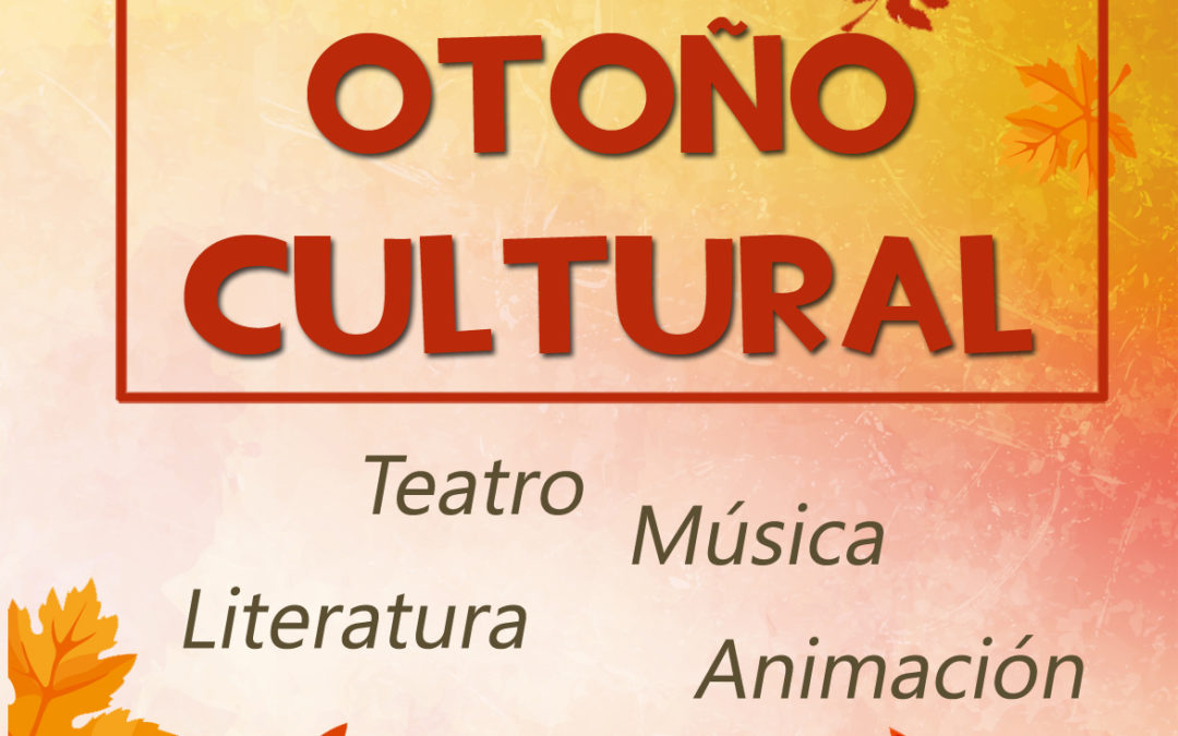La Delegación de Cultura del Ayuntamiento de Iznájar presenta la programación de Otoño Cultural 1