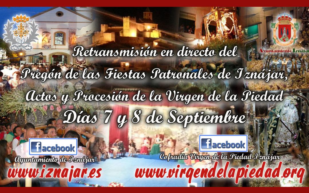 Retransmisión DIRECTO Fiestas Patronales Iznájar 2019 1