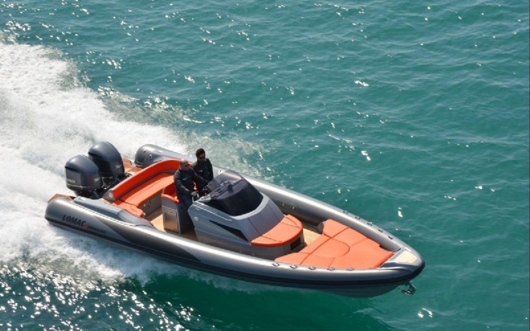 Embarcación neumática para Protección Civil 1