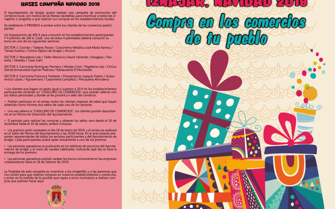 Campaña de Navidad en Iznájar #NavidadenIznájar 1
