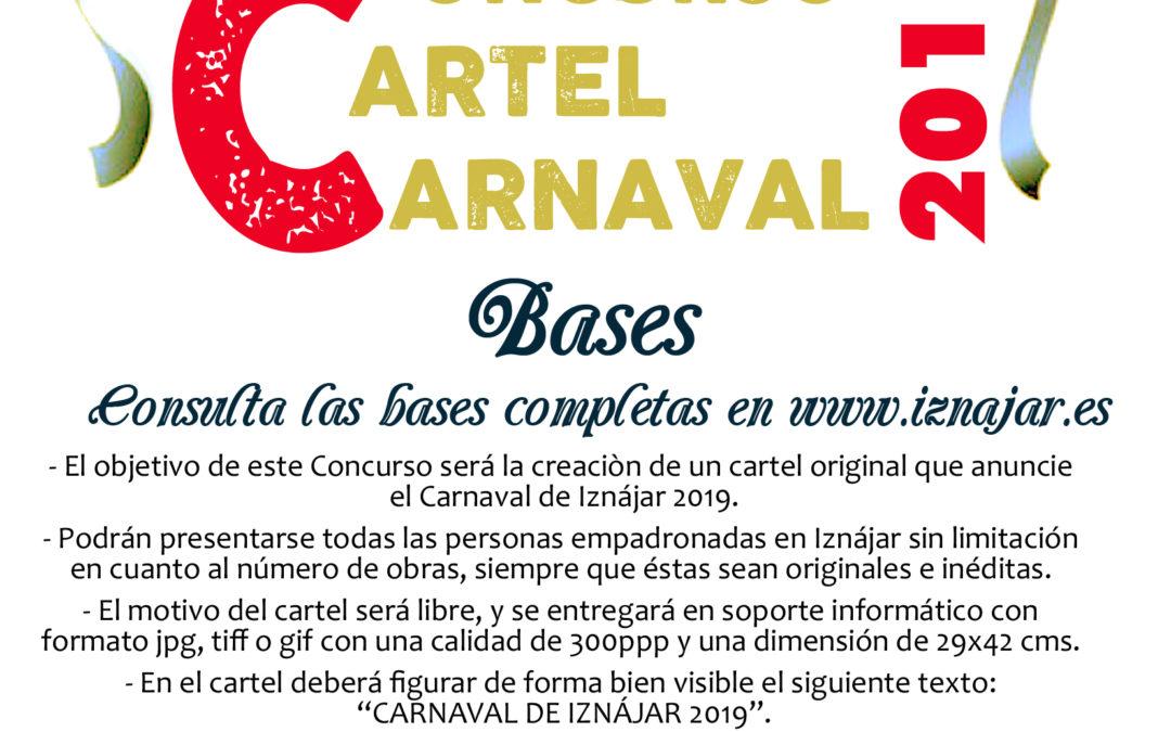 El Ayuntamiento de Iznájar convoca el concurso del cartel anunciador del Carnaval 1