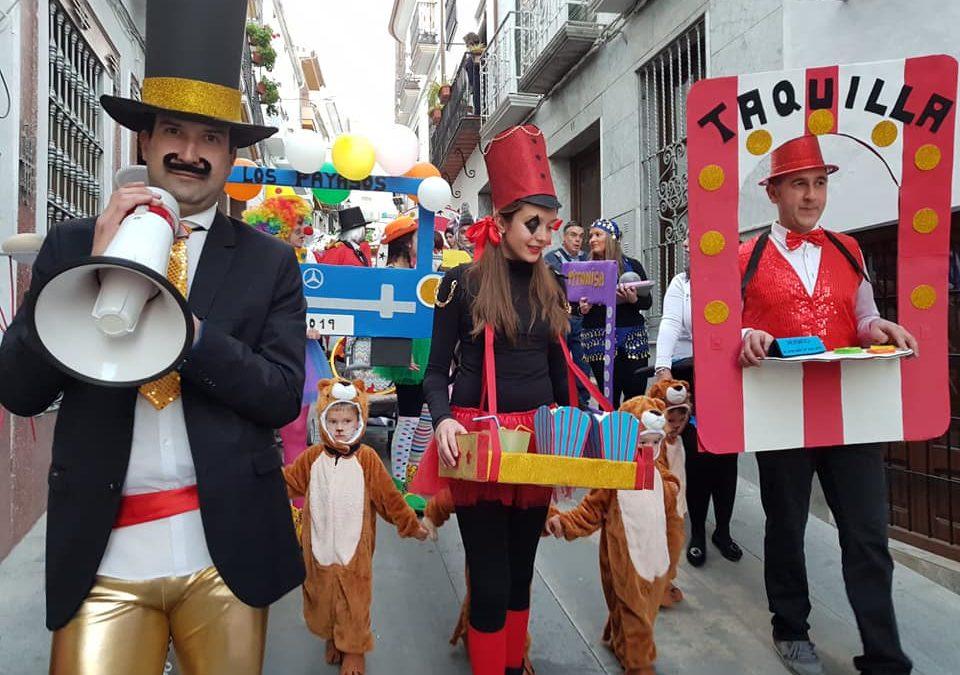 Concurso de Disfraces y Actuaciones del Carnaval de Iznájar 2019 1