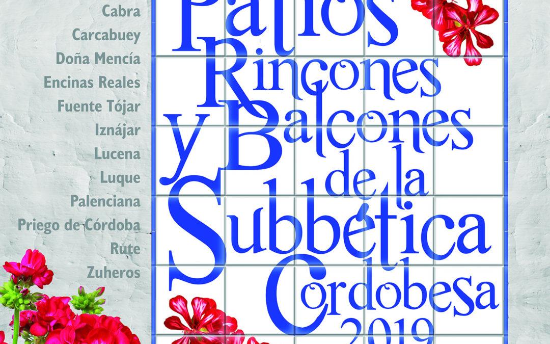 Patios Rincones y Balcones de la Subbética Cordobesa 2019 1