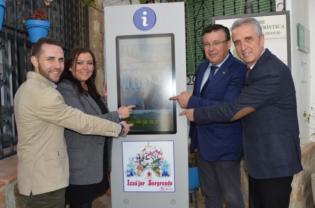 Subvención concedida por el Patronato Provincial de Turismo de Córdoba. Iznájar destino turístico de la Subbética Cordobesa 1