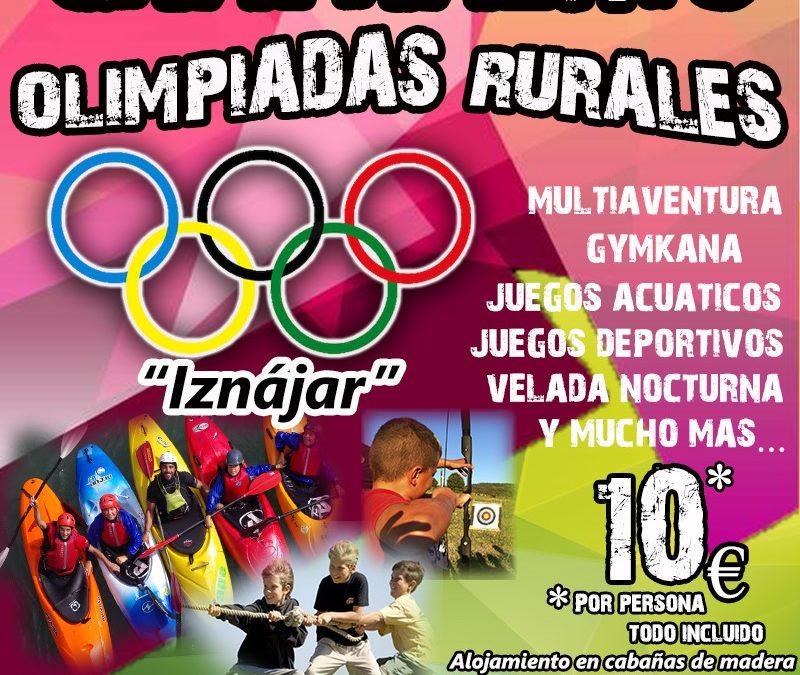 Olimpiadas Rurales Iznájar 2019 1
