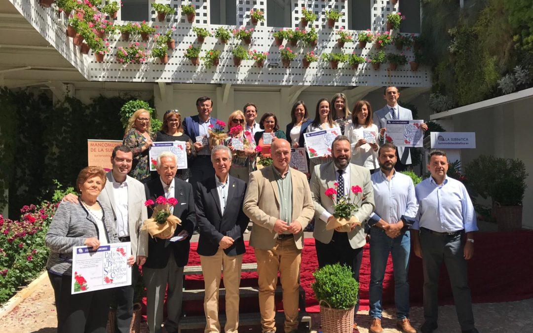 Entrega de premios del VII Concurso de patios, rincones y balcones de la Subbética 1