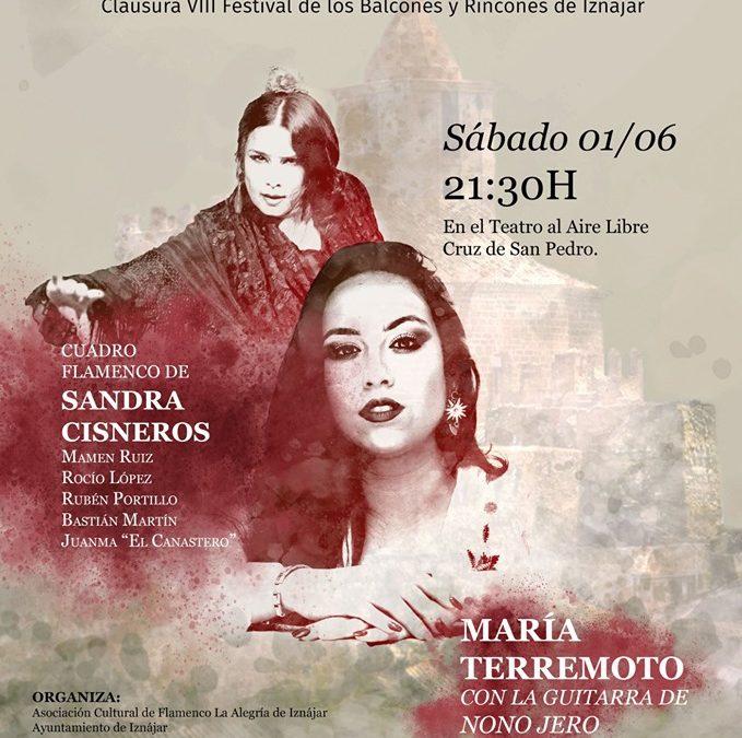 La cantaora María Terremoto encabeza la VI Velada Flamenca de Iznájar 1
