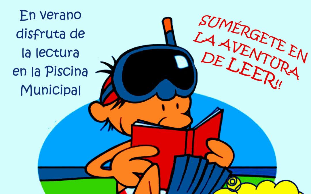 La Piscina Municipal de Iznájar volverá a tener servicio de Bibliopiscina 1