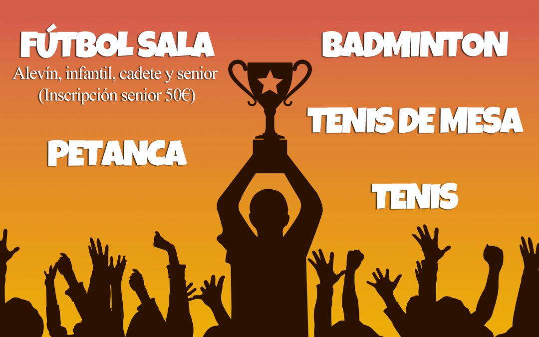 El Ayuntamiento de Iznájar abre el plazo de inscripción para las ligas de verano 1