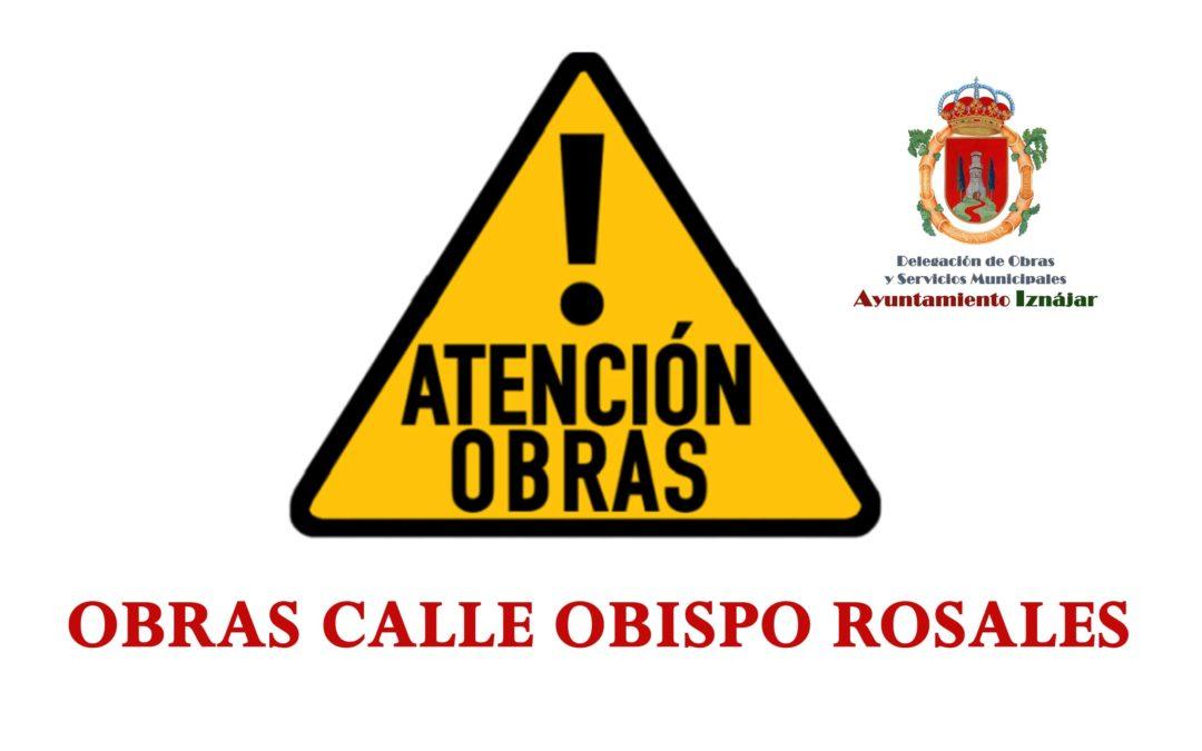Última hora: Obra calle Obispo Rosales 1