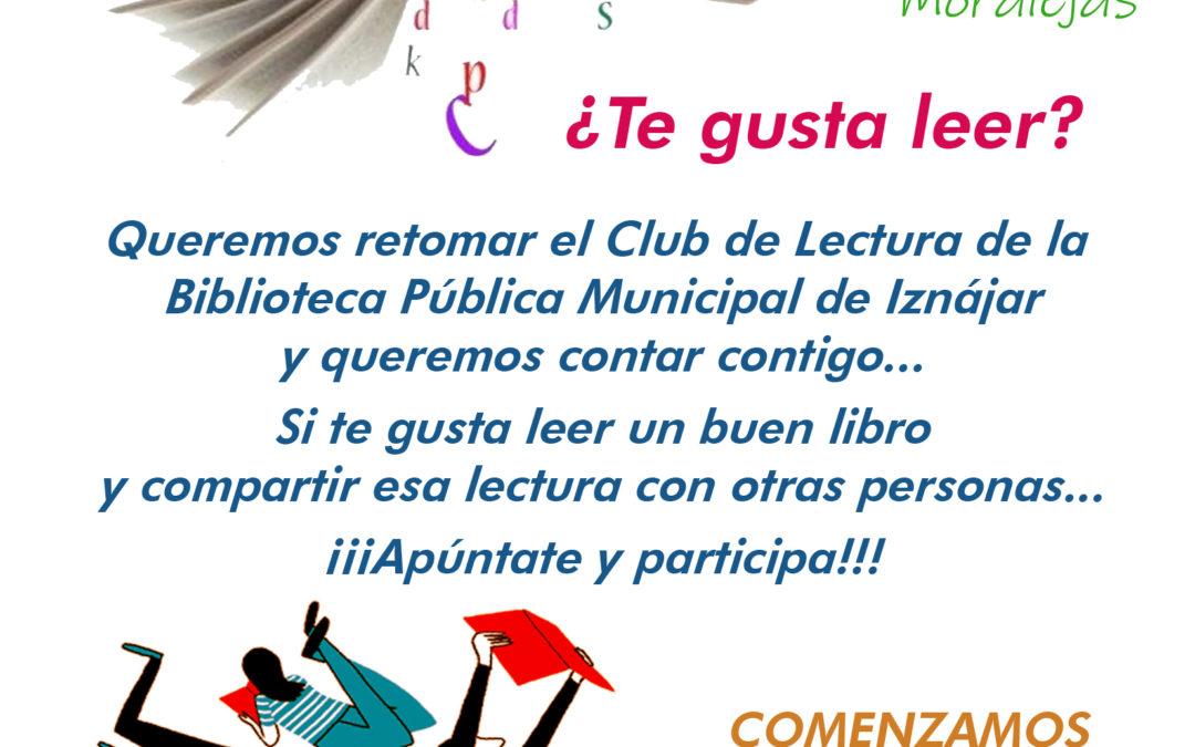 La Biblioteca Municipal pretende retomar el Club de Lectura 1