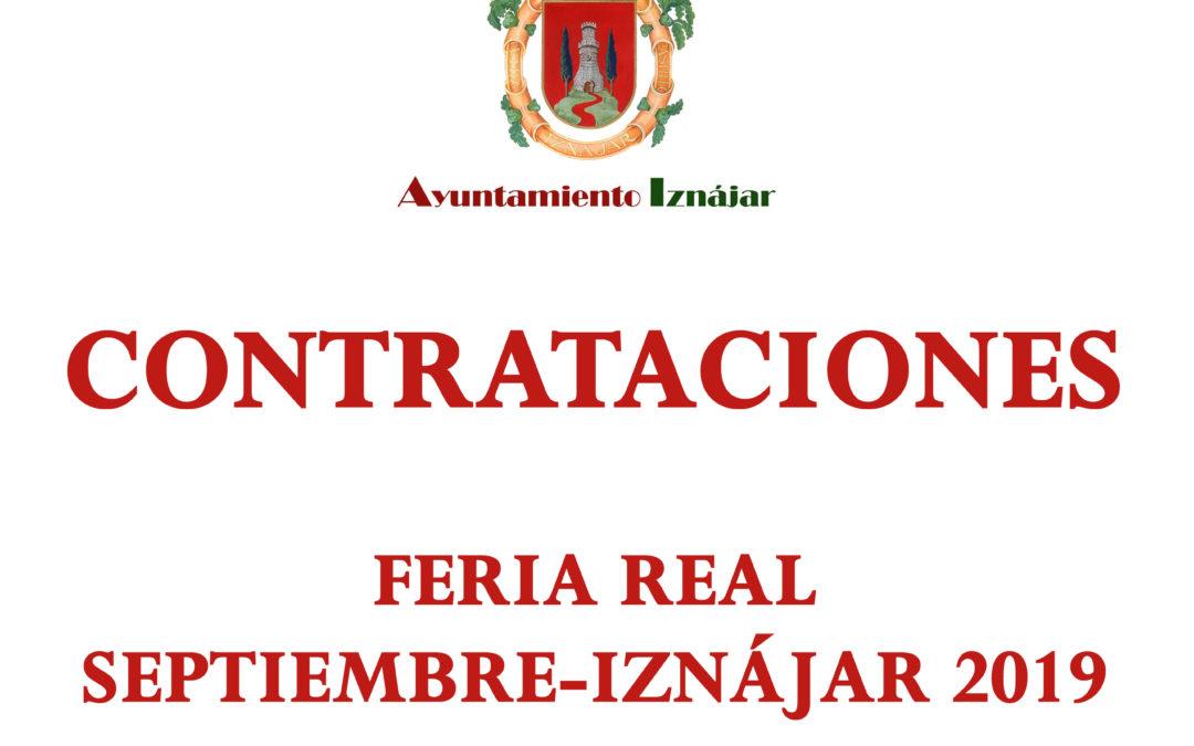 Contratación Feria Grande 2019 1