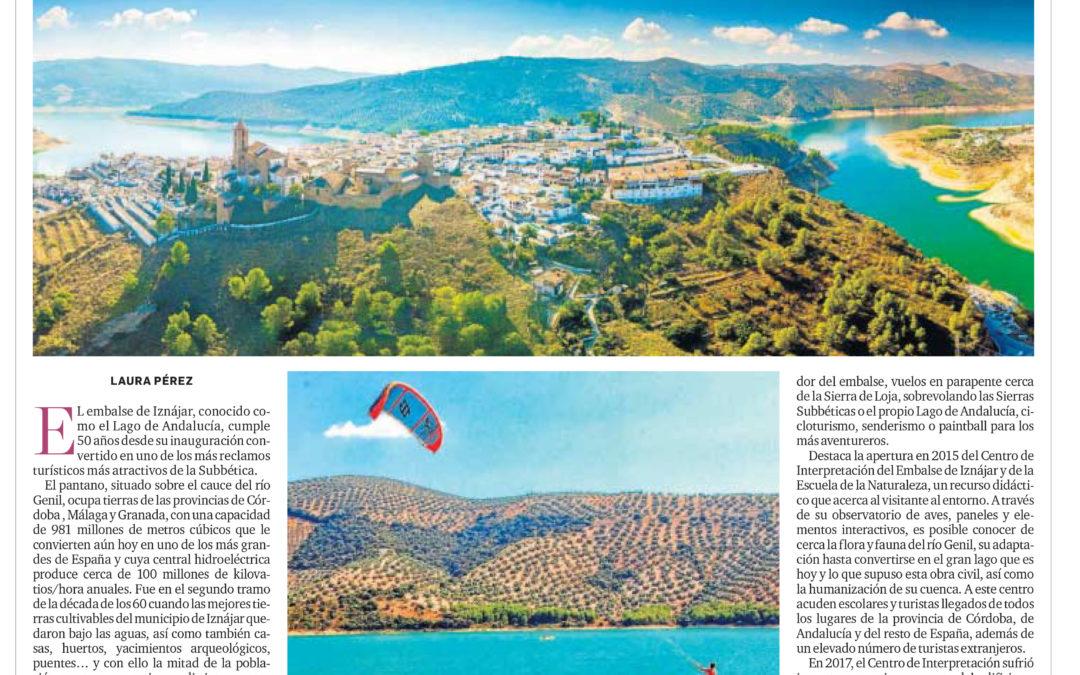 """Especial Turismo El Día de Córdoba dedicado al Embalse de iznájar por su 50 Aniversario """"Descubre el Lago de Andalucía"""" 1"""