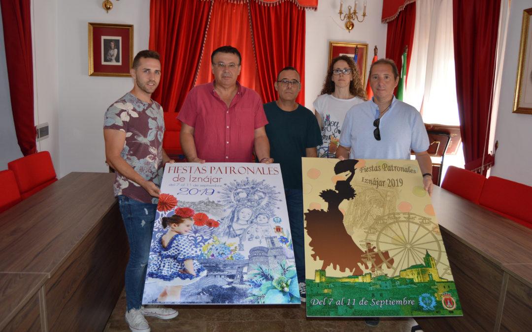 Iznájar presenta el cartel de sus Fiestas Patronales y la portada de la Revista de Feria 2019 1