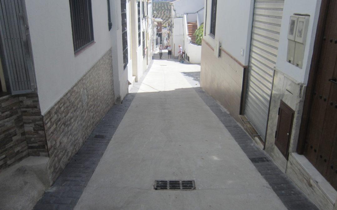 Apertura Calle Obispo Rosales 1