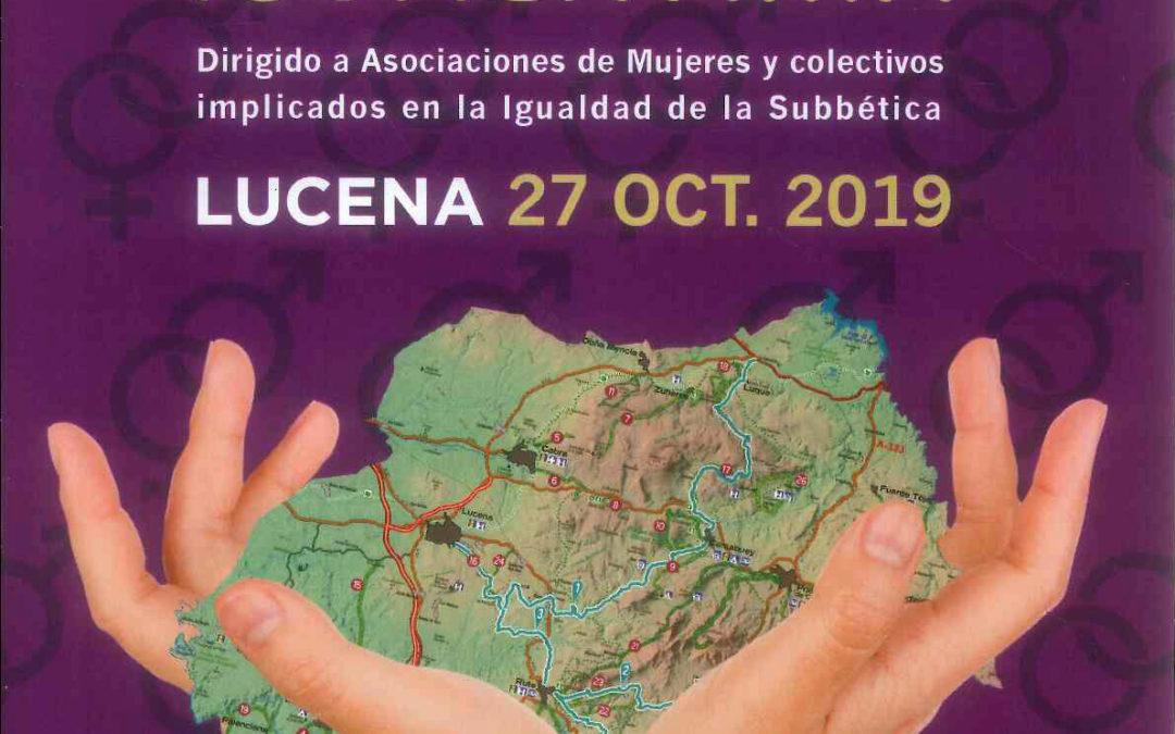 El I Encuentro 'Subbética Solidaria' reunirá a asociaciones de mujeres y colectivos de la comarca 1